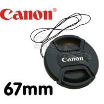 Tampa Da Lente Canon 67mm ** P/ Lente 18-135mm