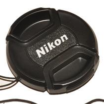 Tampa Objetiva Nikon 77ø 77mm Lens Cap - Frete R$6,90