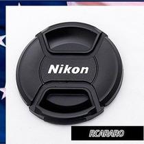 Tampa Para Camera Nikon Lentes 67mm D90 D7000 Lc-67
