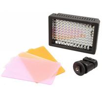 Iluminador Hd-126 Led Luminaria Luz Video Filmadora Dslr Cn