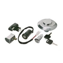 Chave Ignicao Fan 125 2005-2008 Kit Completo Com Travas 5pçs