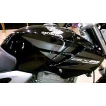 Aba Do Tanque Twister 2008 Preta L/d - Original Honda