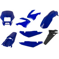 Carenagem Bros 125 Azul 2003/2004 Kit Completo
