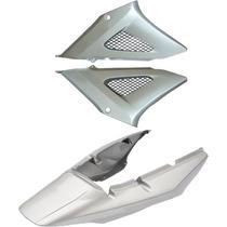 Carenagem+lateral Cbx 250 Twister Prata 2005/2006/2007
