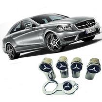 Bico/valvula/capa Ante Furto Cromado Modelo Mercedes Benz