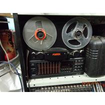 Gravador De Rolo Fostex Model 80, 8 Pistas