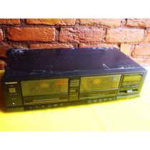 Tape Deck Techinics Rs-t20 - Duplo Deck - P/ Trocar Correias
