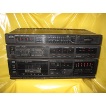 Receiver E Tape Deck Cce Sr-250 E Cd-250 Precisa De Reparos.