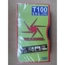 Fita Cassete T 100 Nova Lacrada P Entrega Produto Novo