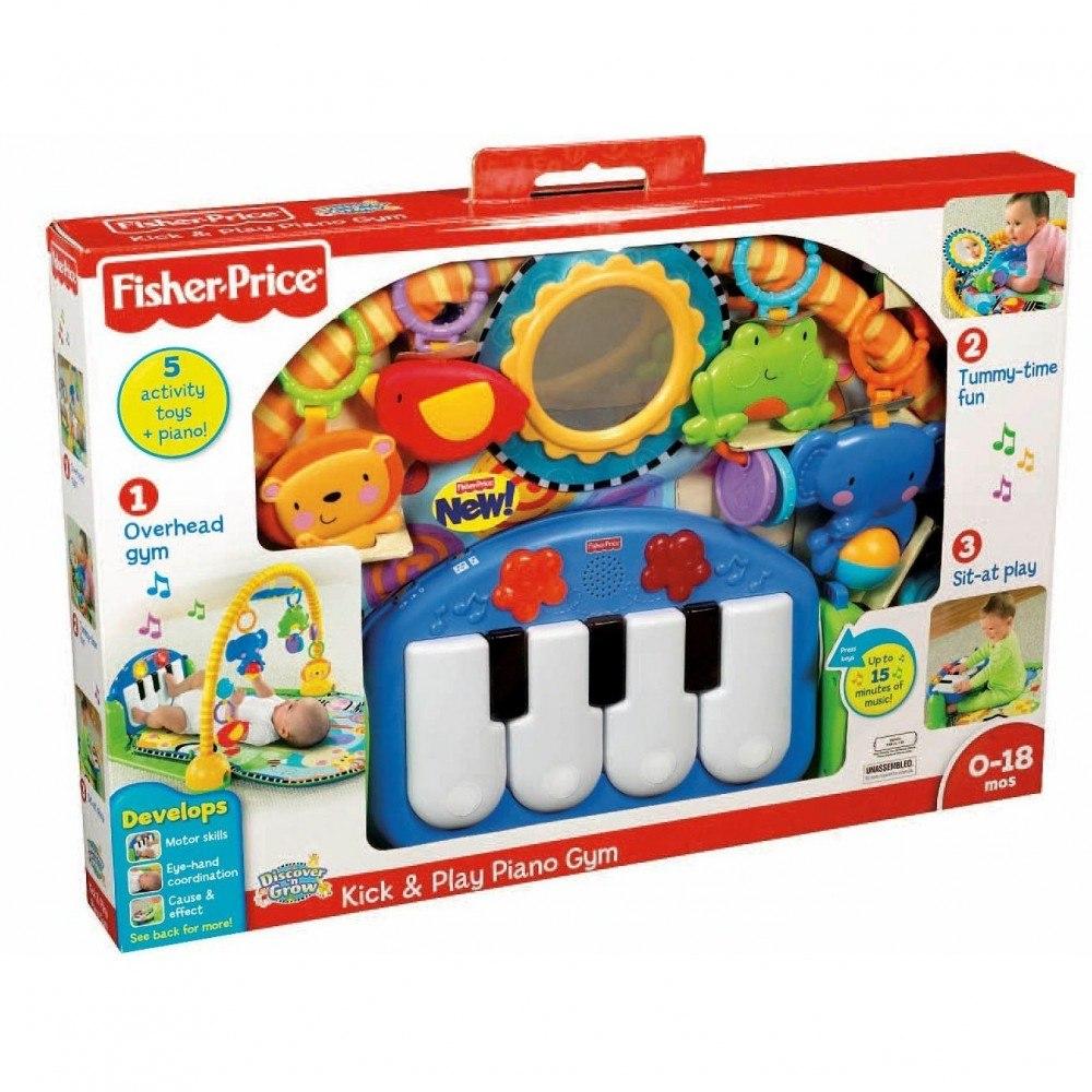 Tapete Safari Fisher Price : tapete de atividades piano musical animais fisher price