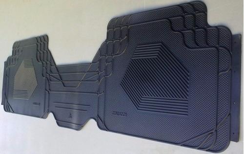 Tapete Em Borracha Renault Fluence Com Protetor De Tunel