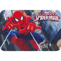 Tapete Spider Man Action Homem Aranha Transfer Jolitex