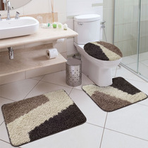 Jogo De Tapete Para Banheiro 3 Peças Riviera Jolitex
