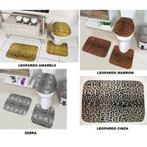 Conjunto Jogo De Tapetes Para Banheiro - 4 Modelos