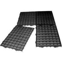 30 Tapetes Plásticos Estrado 50 X 25 X 2,5cm Preto Multiusos