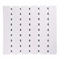Piso Tapete Estrado Antiderrapante P Box Ventosas Cor Branco