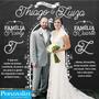 Adesivo De Parede Backdrop Personalize Casamentos 2m X 2m