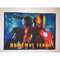 Tapete Infantil Homem De Ferro (70 X 45cm) - Pronta Entrega!