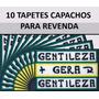 Atacado 10 Tapetes Capacho Gentileza Gera Gentileza