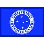 Tapete Cruzeiro Esporte Clube Capachos Com Bordas Rebaixada