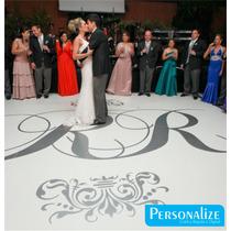 Pista De Dança Personalize Casamento,debutantes 4,0m X 4,0m