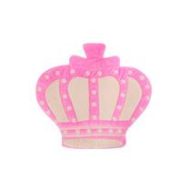 Tapete Para Quarto De Bebê Menina Princesa Coroa Rosa Lb527