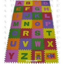 Tapete - Tatame Bebê E Infantil Em Eva - Alfabeto 28 Peças