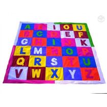 Tapete Educativo Em Corino Acolchoado Alfabeto
