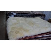 Tapete De Lã De Carneiro 1,00m X 1,50