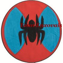 Promoção Tapete Infantil Aranha Spider 68cm Em Pelúcia