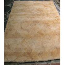 Antigo Tapete De Lã De Carneiro #3311