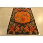 Tapete Kilim 100% Mão Lã Floral Aubusson Turquia 2,10x1,34m