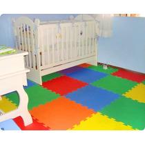 20 Tapetes Em Eva Decorativo Quarto Colorido 50x50cm