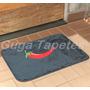 Tapete De Pelúcia Cinza Antiderrapante Pimenta 68cm X 48cm