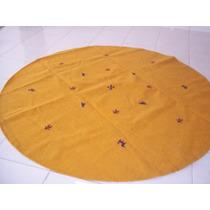Tapete Gabbeh Redondo 2,5 Diametro Tapete Oriental Persa Gab