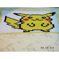 Tapete Pokemon Em Croche