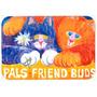 Cats Pals Amigos Buds Cozinha Ou Banho Mat 20x30