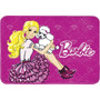 Tapete Barbie Super Macio 80x120 Cm - Jolitex