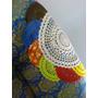 Toalha Em Croche Novo Artesanal 64 Cm Diametro P Mesa Ou