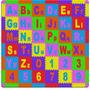 Tapete Alfabeto Gigante Com Bordas Brinquedo Educativo