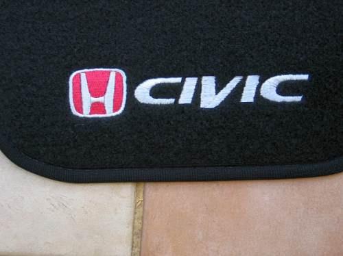 Tapetes Personalizados Civic Honda 2001-2006 Ex Lx Novos