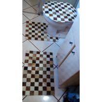 Jogo De Banheiro Em Couro ( Promoção Direto De Fábrica)