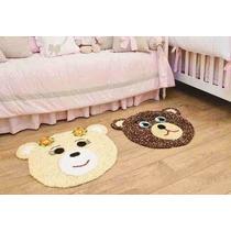 Tapete Infantil Urso Ou Ursa De Croche