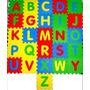 Tapete Tatame Bebê E Infantil Em Eva Alfabeto 26 Peças 29x29