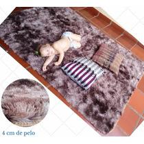 Tapete Peludo Sala De Estar 2,00x2,40 Shaggy Luxo Quarto