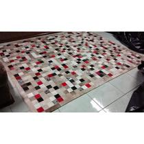 Tapete De Couro Colorido 1,50x2,00 Com Bordas