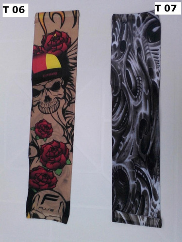 Tatuagem Falsa, Fake Tattoo/ Sleeve - Vendo O Par/ Misturado