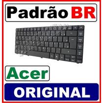 Teclado Notebook Acer Aspire 4739-6831 4739-6864 Br Ç Novo