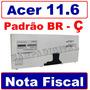 Teclado Netbook Acer Za3 Nsk-aqk1b Nsk-aqr1b Aeza3r00010 Br