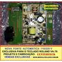 Nova Fonte De Alimentação Roland Va-76 Automática 110/220